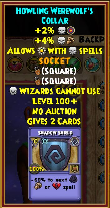 Wizard101 Halloween Boss Drops